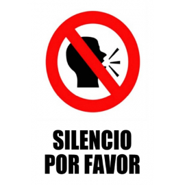 Silencio porfavor