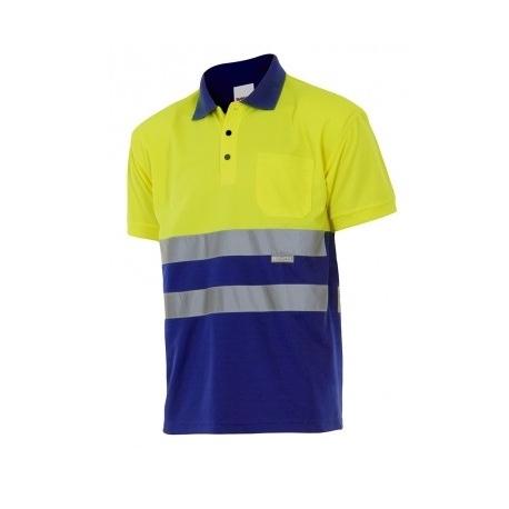 Polo bicolor 173