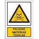Peligro materias tóxicas