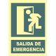 Salida de emergencia a la izquierda