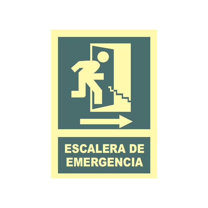 Escalera de emergencia a la derecha 421 teslaboral for Escaleras de emergencia