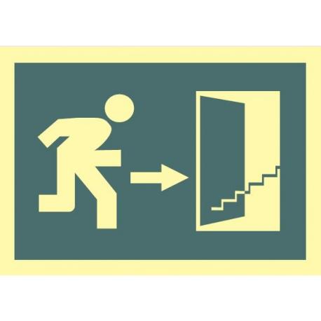 Salida escaleras arriba derecha 450