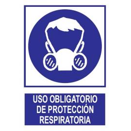 Uso obligatorio de protección respiratoria