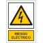 Peligro de riesgo eléctrico
