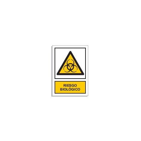 Peligro riesgo biológico