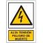 Alta tensión peligro de muerte