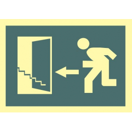 Salida escalera arriba izquierda 449