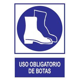 Uso obligatorio de botas