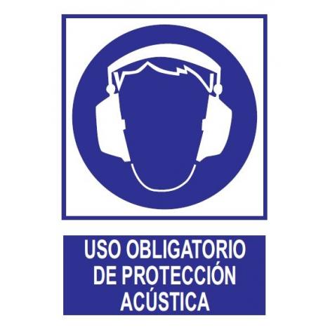 Uso obligatorio de protección acústica