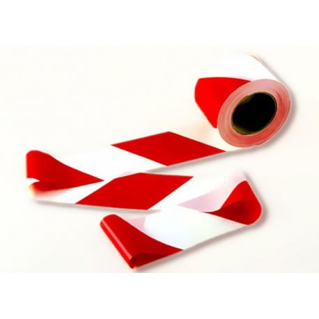 Cinta balizamiento blanca/roja C257