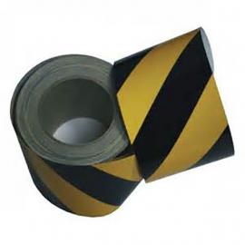 Cinta balizamiento amarilla/negra C258