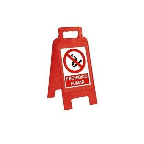 Caballete de señalización advertencia